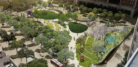 pershing square renew design competition