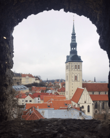 Tallinn from Kiek in de Kök
