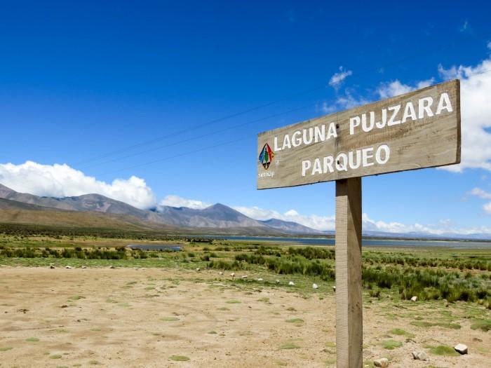Inca Trail Tarija Laguna Pujzara