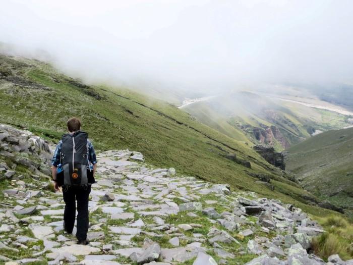 Beginning of the Inca Trail Tarija Bolivia