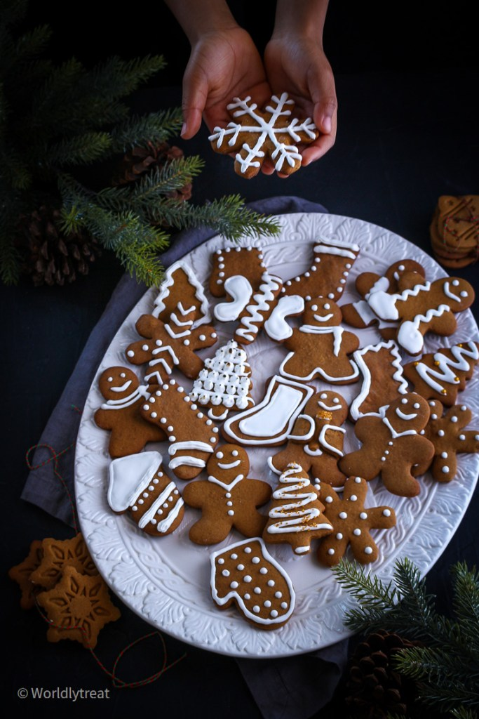 Soft and Chewy Gingerbread cookies-25