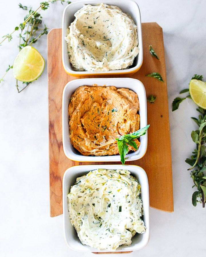 Compound butter spread