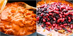 BEAN AND BEEF IN A TIKKA MASALA SAUCE