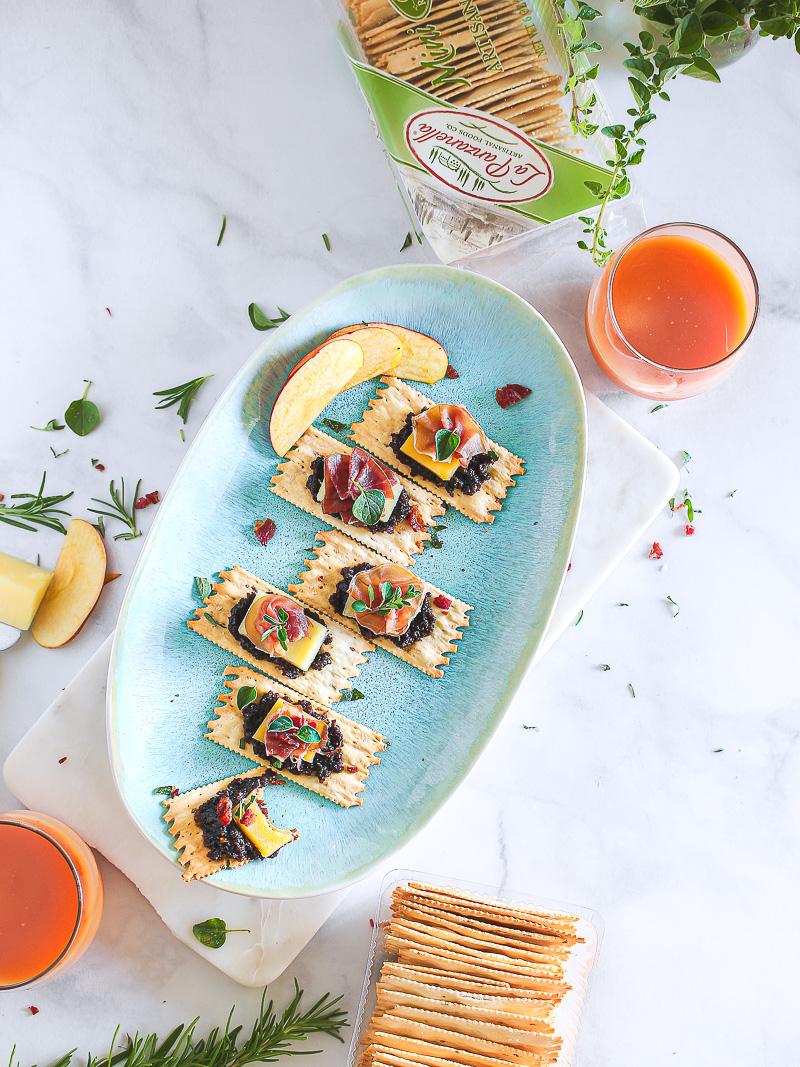 Bacon Jam, Gruyere & Prosciutto Croccantini®