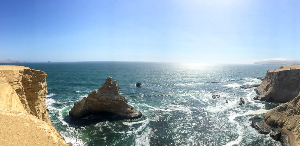 la catedral panoramic overlook paracas national reserve