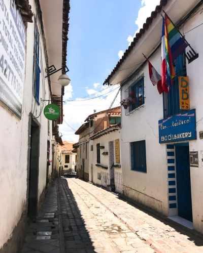 Alleyway in Cusco Peru