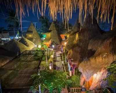 Where to stay on Gili Air: Fantastic Bamboo Hut