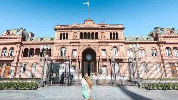 Best things to do in Buenos Aires: Casa Rosada