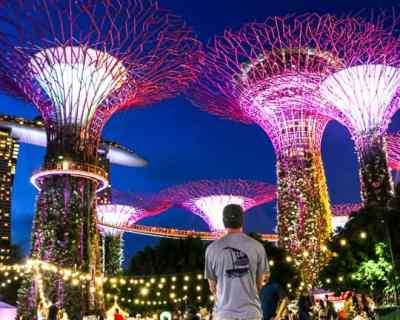 Budget Friendly things to do in Singapore: See a Lightshow