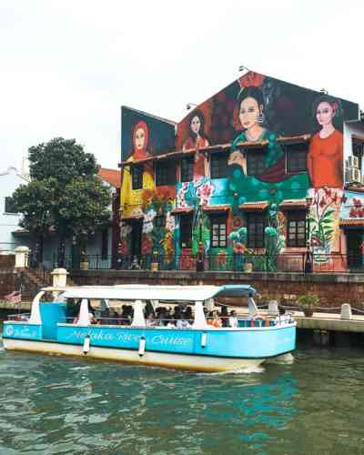Day Trip to Malacca: Malacca River Murals