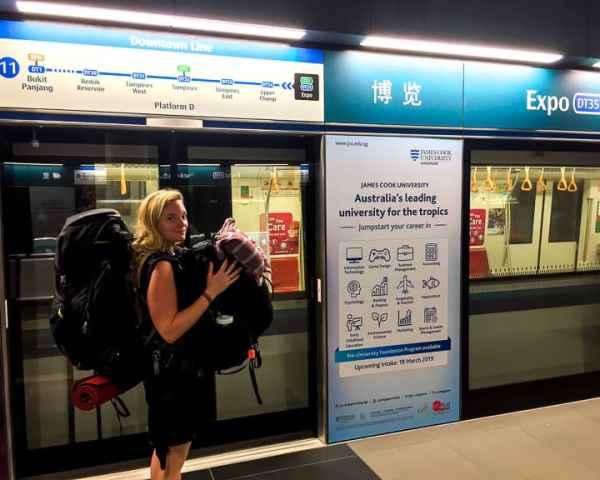 Singapore Travel by MRT