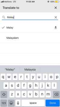 Malaysia Day Trip Guide: Google Translate for Langauge Barriers