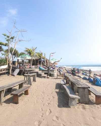 Things to do in Canggu: Sunbathe at Batu Balig Beach