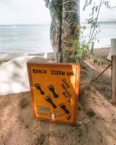 90facb382e5 Trash Hero Gili Air: Keeping the Island clean - Worldly Wander
