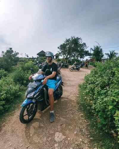 Best way to get around Nusa Penida: Rent a Scooter