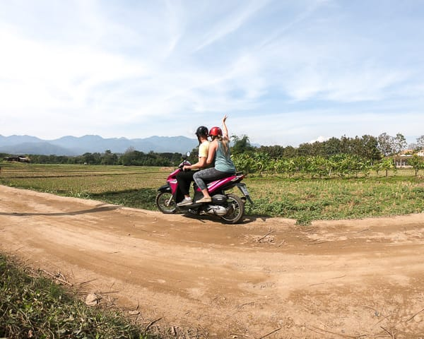 Budget Guide to Pai: Rent a Scooter