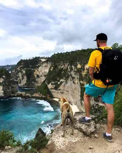 10 Best Places to Instagram in Bali: Diamond Beach