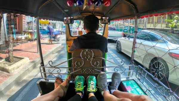 Bangkok on a Budget: Tuk Tuk Ride