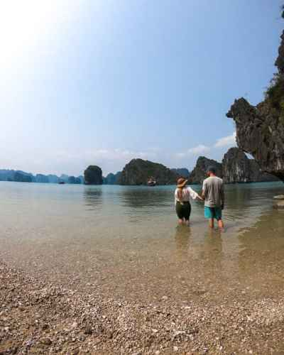 Budget friendly things to do in Cat Ba: Kayaking in Cat Ba