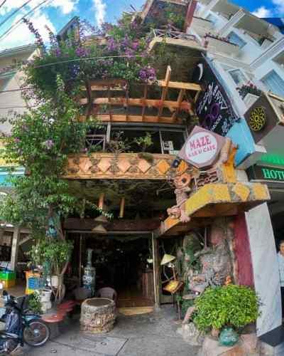 Best things to do in Dalat: Maze Bar
