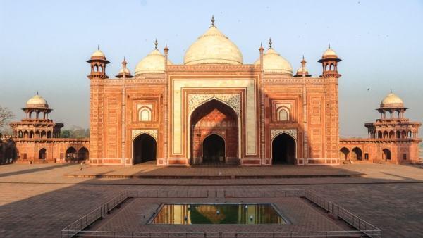 Taj Mahal Sunrise 2 - 800 16x9