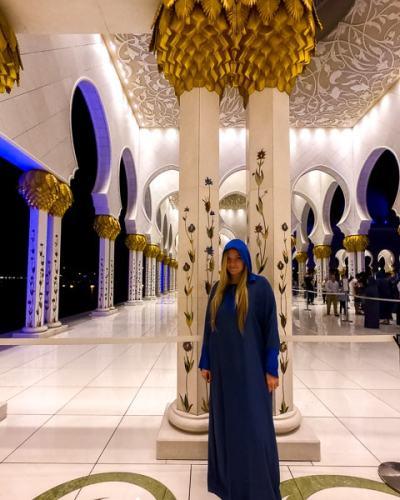 Day Trip to Abu Dhabi: Grand Mosque