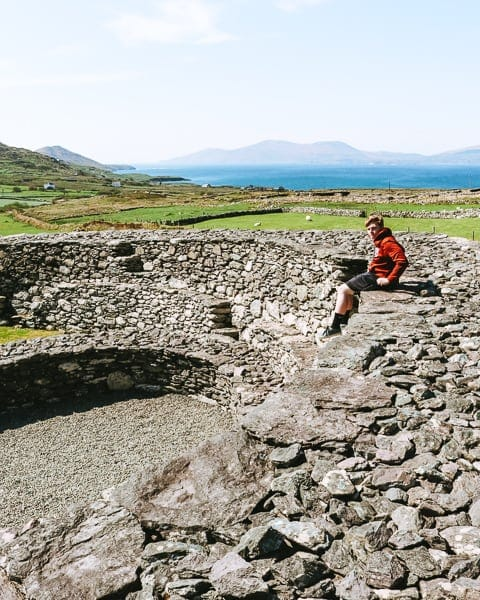 Things to see Ring of Kerry - Loher Stone Fort