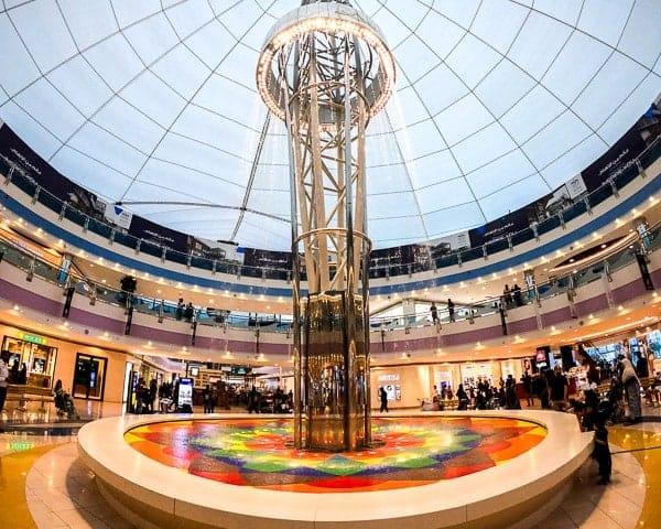 Day Trip to Abu Dhabi: Marina Mall