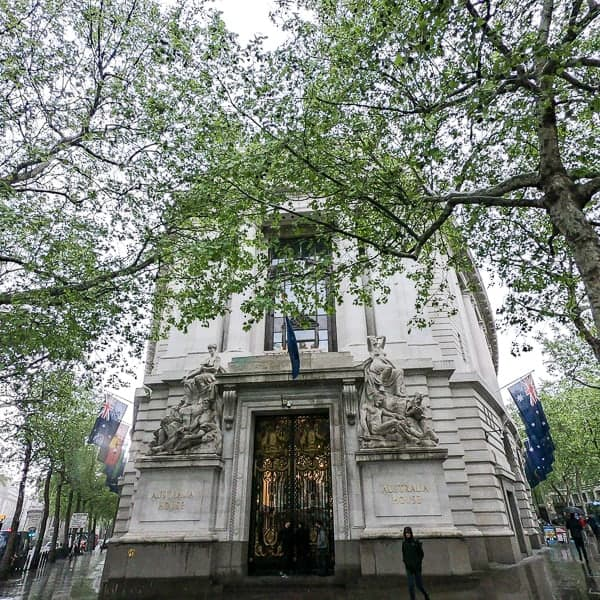 Free Things to do in London Harry Potter Tour - Australia House
