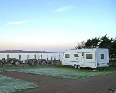 Camping along the NC500