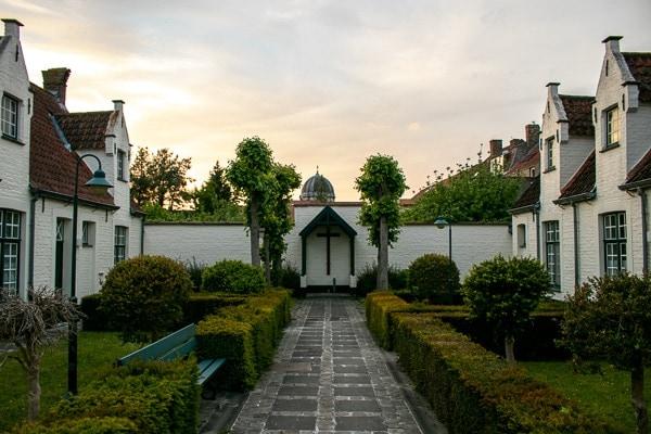 Bruges on a Budget - Visit the Almshouses