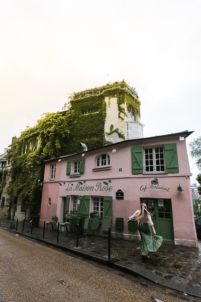 Best things to do in Paris: Montemart La Maison Rose