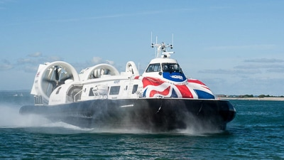 How to get to the Isle of Wight - Hoverferry