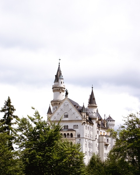 How to see neuschwanstein castle for free