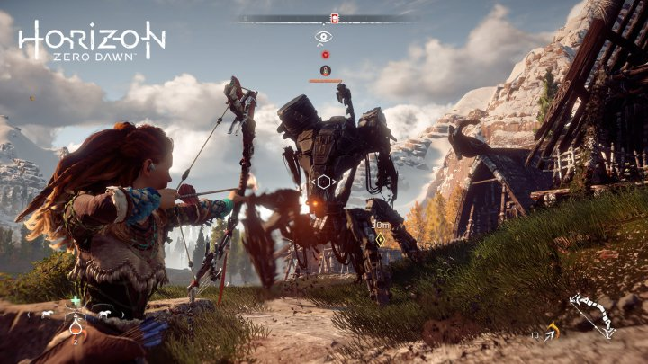 aloy shooting mechanics
