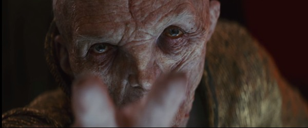 snoke reaching out with the force