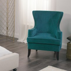 Blue Wing Chair Dining Table And Pacific Elliott Wingback World Market