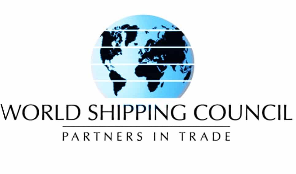 world shipping council logo