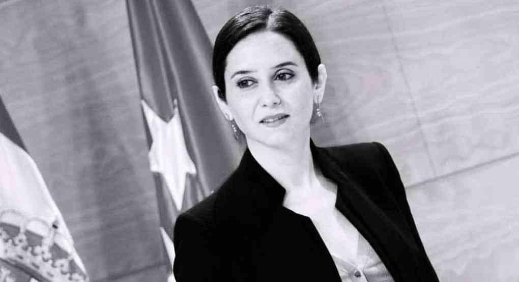 Isabel Díaz Ayuso Madrid region President