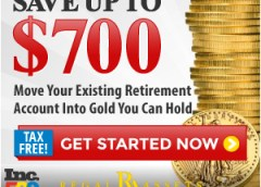 Rollover Your IRA to Gold for with Free Kit
