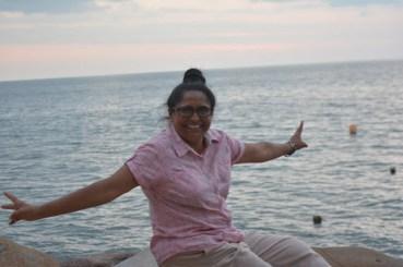 News Year's Day at the beach side of Wyndham Resort Denarau Island