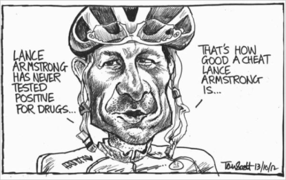 Lance Armstrong and Diederik Stapel: Laying Waste to