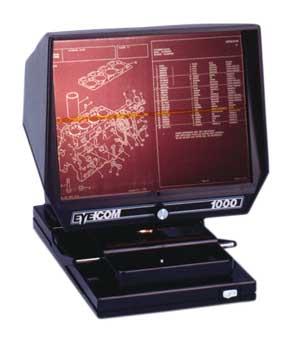 EC 1000 Microfiche Reader
