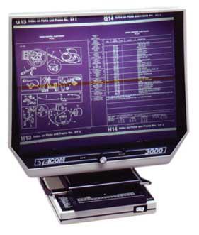 EC3000 Microfiche Reader
