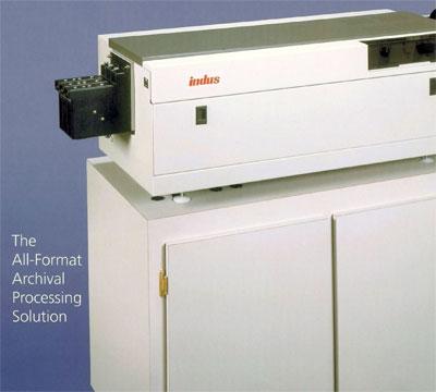 Indus Series 3 Microfilm processors