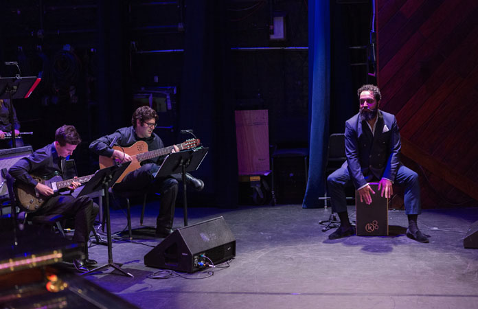 Piraña performs with Berklee students by MichaelSpencer