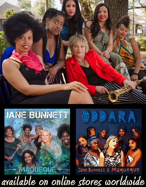 Jane Bunnett & Maqueque - Music available on online stores worldwide