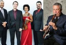 Paquito D'Rivera with the Harlem Quartet
