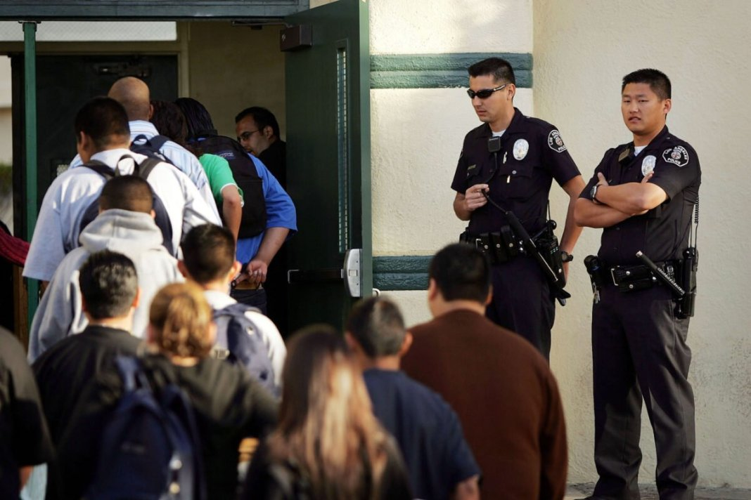 Los Angeles school district rejects proposal to allow police to return to campus
