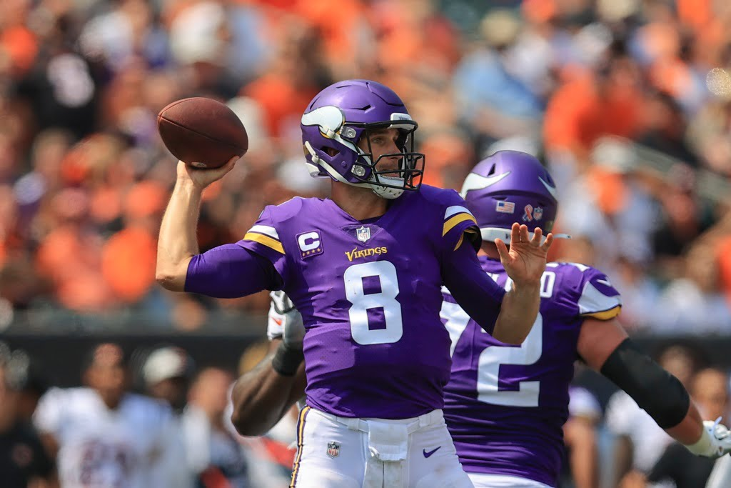 Vikings' Dalvin Cook on Kirk Cousins: 'With a clean pocket, the best in the game'